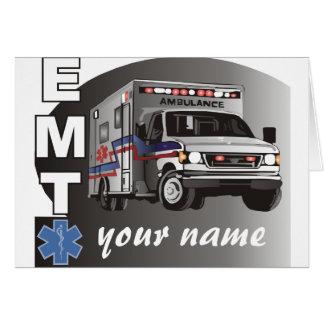 名前入りなEMT カード