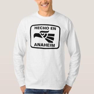 名前入りなHecho enアナハイムのpersonalizadoのカスタム Tシャツ