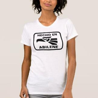 名前入りなHecho enアビリンのpersonalizadoのカスタム Tシャツ