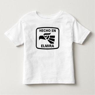 名前入りなHecho enエルマイラのpersonalizadoのカスタム トドラーTシャツ