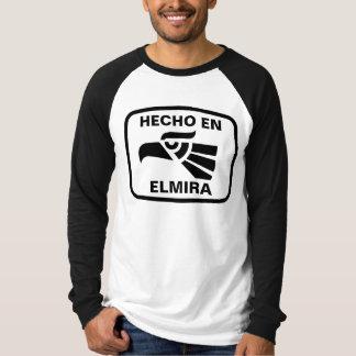 名前入りなHecho enエルマイラのpersonalizadoのカスタム Tシャツ