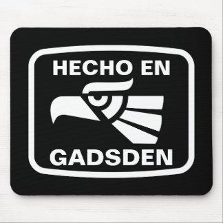名前入りなHecho enガズデンのpersonalizadoのカスタム マウスパッド