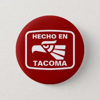 名前入りなHecho enタコマ市のpersonalizadoのカスタム 5.7cm 丸型バッジ
