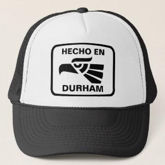 名前入りなHecho enダラムのpersonalizadoのカスタム キャップ