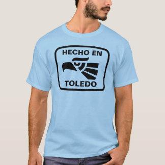 名前入りなHecho enトレドのpersonalizadoのカスタム Tシャツ