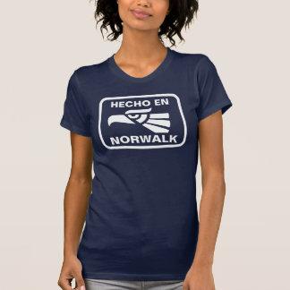 名前入りなHecho enノーウォークのpersonalizadoのカスタム Tシャツ