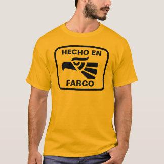 名前入りなHecho enファーゴのpersonalizadoのカスタム Tシャツ