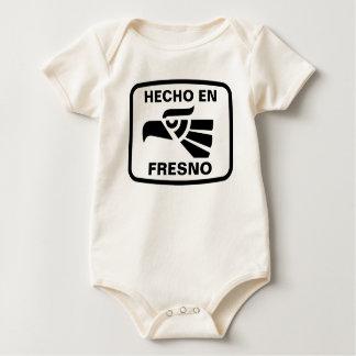 名前入りなHecho enフレズノのpersonalizadoのカスタム ベビーボディスーツ
