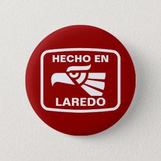 名前入りなHecho enラレドのpersonalizadoのカスタム 5.7cm 丸型バッジ