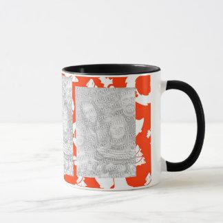 名前入りなInstagram 3の写真のクリスマス マグカップ