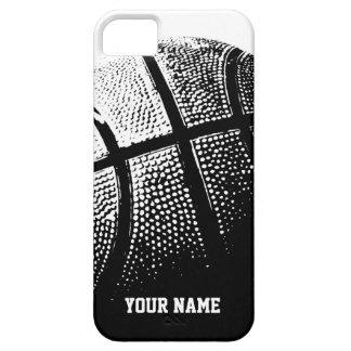 名前入りなiPhoneの場合|のバスケットボールのスポーツ iPhone SE/5/5s ケース