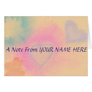 名前入りなNotecards カード