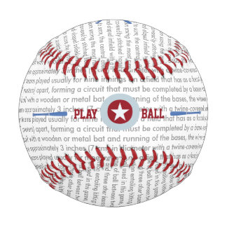 名前入りベグどなって下さい 野球ボール