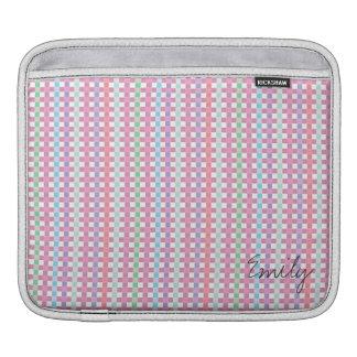 名前入り日の多彩なIPadのパッドを作って下さい iPadスリーブ