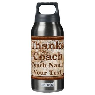 名前入り野球のコーチありがとう 断熱ウォーターボトル