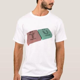 名前Yu Y Uイットリウムウラン Tシャツ