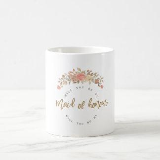 名誉のある私の女中ですか。 コーヒーマグカップ