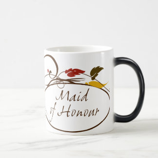 名誉のある秋の女中 モーフィングマグカップ