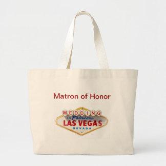 名誉のラスベガスの結婚式のバッグの婦人 ラージトートバッグ