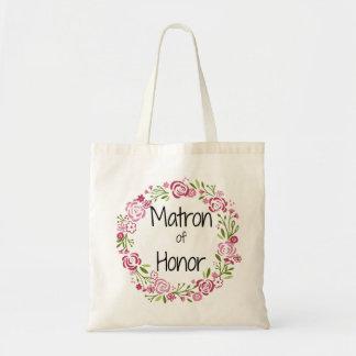 名誉の花柄のトートの婦人 トートバッグ