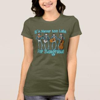 向こうBluegrass Tシャツ