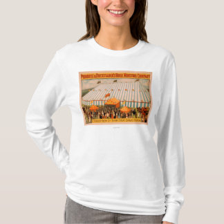 吟遊詩人の巨大なキャンバスの劇場の外観 Tシャツ