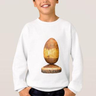 吠え声が付いているアカシアの木から成っている木の卵 スウェットシャツ