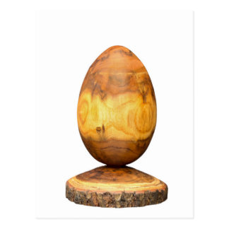 吠え声が付いているアカシアの木から成っている木の卵 ポストカード