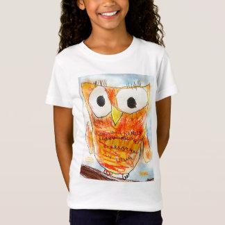 吠え声|デザイナーフクロウ|の青年芸術のプロジェクト Tシャツ