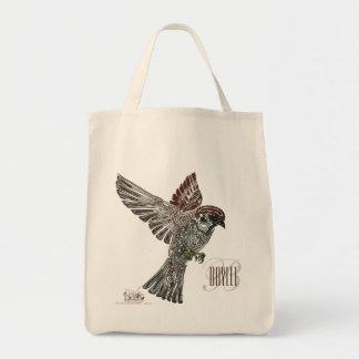 吠え声|種族のSparrowhawk |の青年芸術のプロジェクト トートバッグ