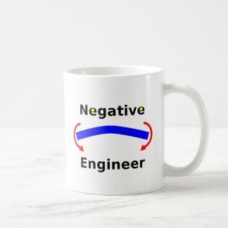 否定的なエンジニアのコーヒー・マグ コーヒーマグカップ