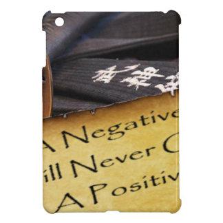 否定的な心は決してapositive生命を与えません iPad mini case