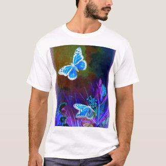 否定的な蝶 Tシャツ