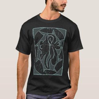 否定的なankh tシャツ