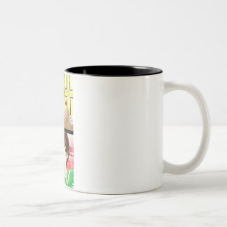否定2色のマグ ツートーンマグカップ