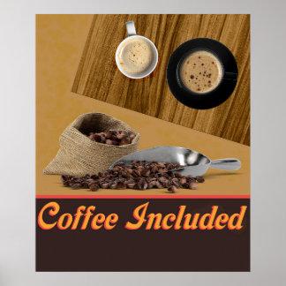 含まれているコーヒー ポスター