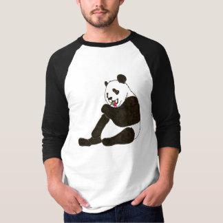 吸盤を持つパンダくま Tシャツ