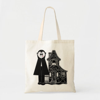吸血鬼およびお化け屋敷 トートバッグ