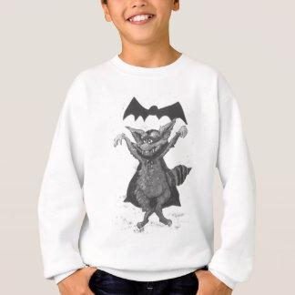 吸血鬼のアライグマ スウェットシャツ
