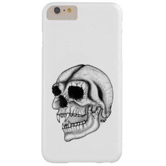 吸血鬼のスカルの白黒デザイン BARELY THERE iPhone 6 PLUS ケース