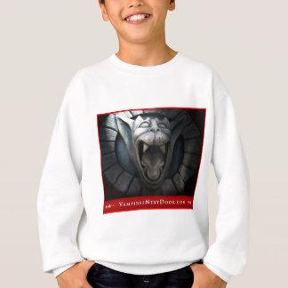 吸血鬼のデザイン スウェットシャツ
