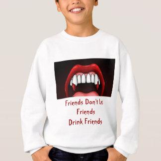 吸血鬼のハロウィンの歯 スウェットシャツ