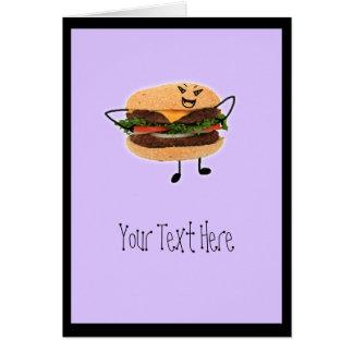吸血鬼のハンバーガー カード