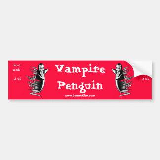 吸血鬼のペンギン: 私は魚の…性質がありません! バンパーステッカー