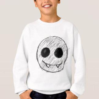 吸血鬼の幸せな顔のギア スウェットシャツ