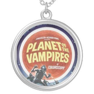 吸血鬼の映画のポスターのネックレスの惑星 パーソナライズネックレス