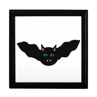 吸血鬼の猫によって直面されるこうもりのハロウィンのギフト用の箱 ギフトボックス
