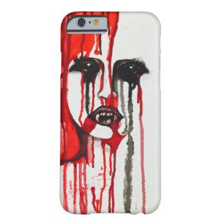 吸血鬼の血の絵画のiPhoneの場合 Barely There iPhone 6 ケース