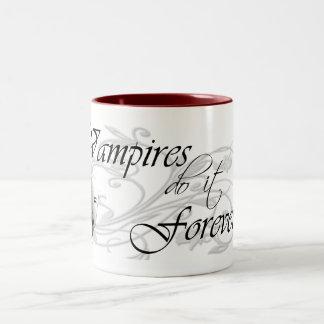 吸血鬼はそれを永久にします ツートーンマグカップ