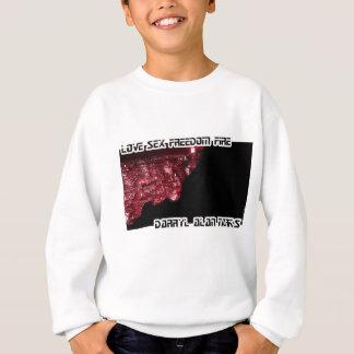 吸血鬼都市-赤い唇および歯 スウェットシャツ
